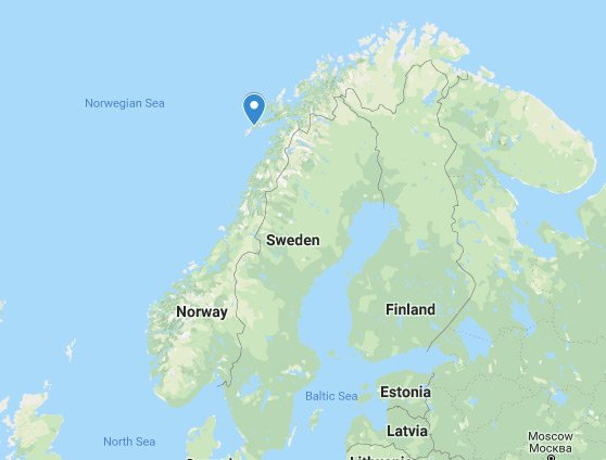 Image result for lofoten islands map