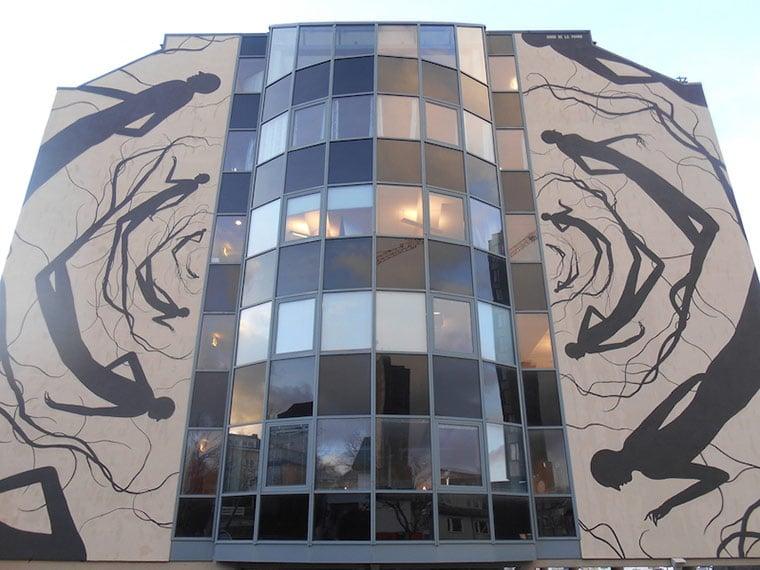 Maelstrom street art in Bodø