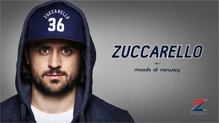 Mats Zuccarello's collaboration with Norwegian fashion house Moods of Norway
