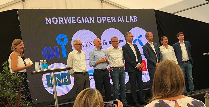 The launch of Norwegian Open AI Lab