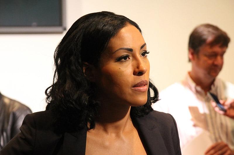 Norwegian boxer Cecilia Brækhus