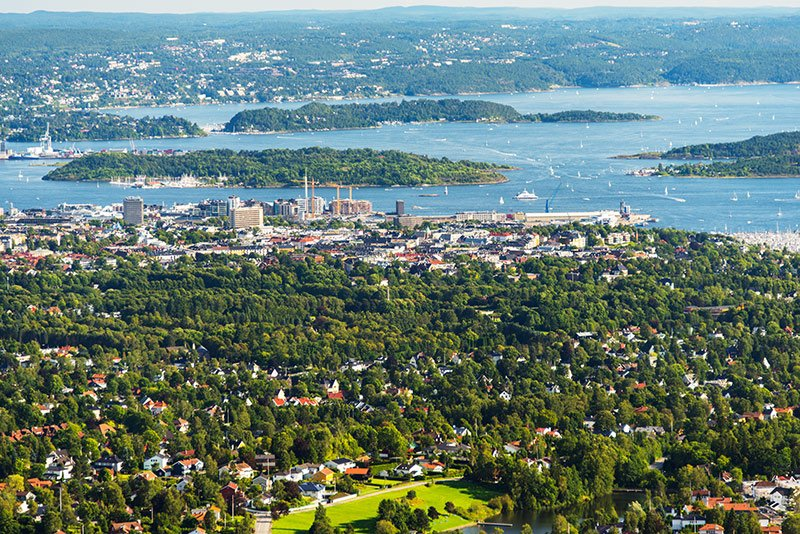 Oslo is already a very green capital city