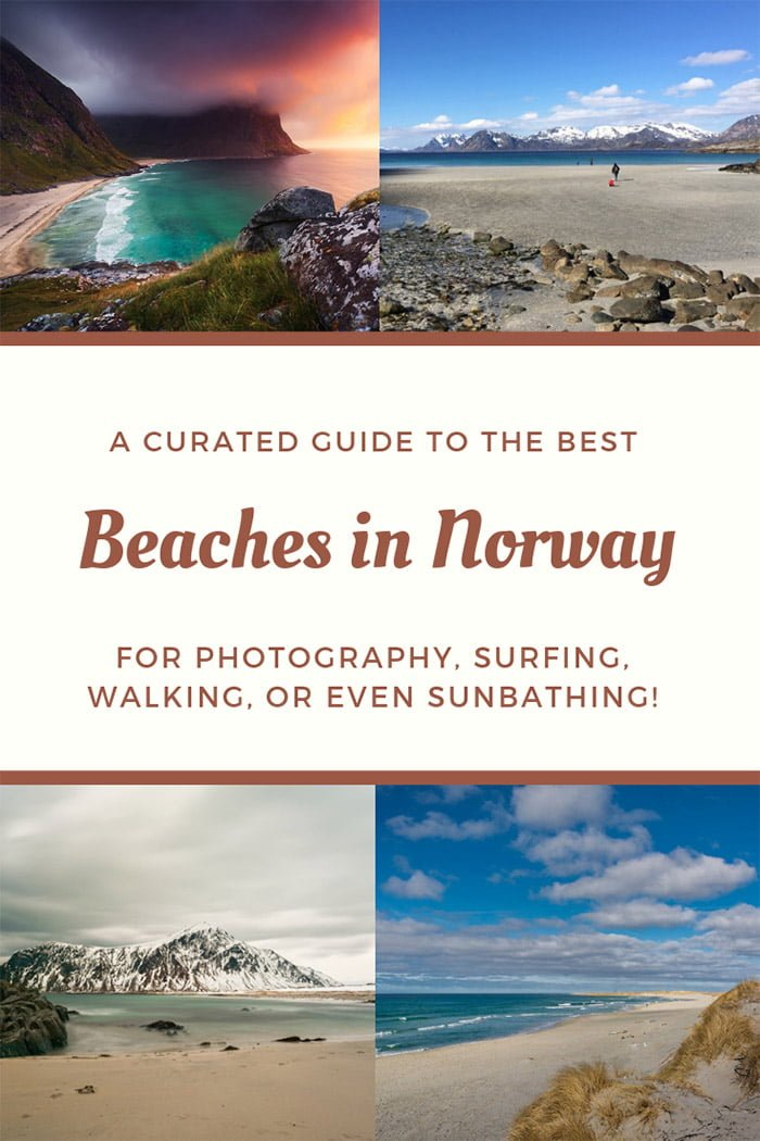 The Best Beaches in Norway: From the world's most photogenic beaches in Lofoten to the city sands of the south, Norway has a surprising selection of family-friendly beaches.