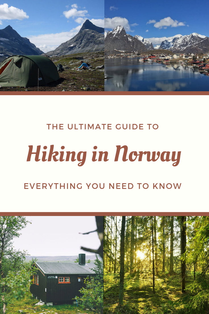 The Ultimate Guide to Hiking in Norway: Plan your first or next walking holiday in the national parks and mountains of Norway