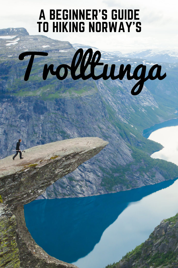 A beginner's guide to hiking Trolltunga in Norway, one of the country's most famous and iconic hikes.