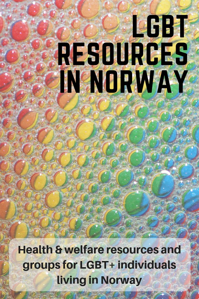 LGBT Resources in Norway: Welfare, health and support groups for gay and lesbian people living in Norway
