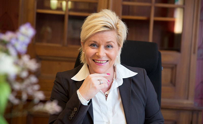 Siv Jensen Norway's Minister of Finance