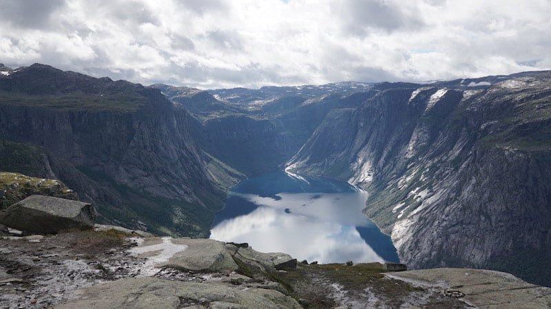 The spectacular mountain scenery of Norway