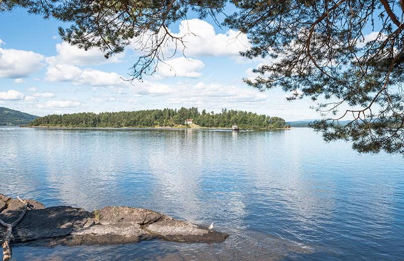 Utøya Island in Norway