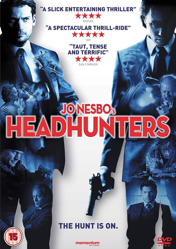 DVD cover of Jo Nesbø's Headhunters