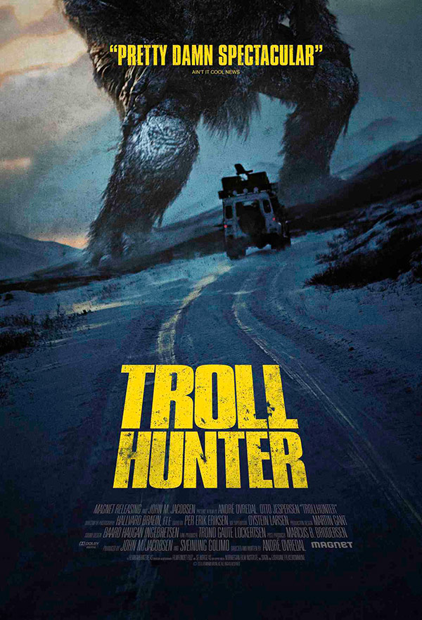 Troll Hunter movie poster in Norway