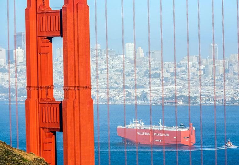 WW Ocean vessel in San Francisco