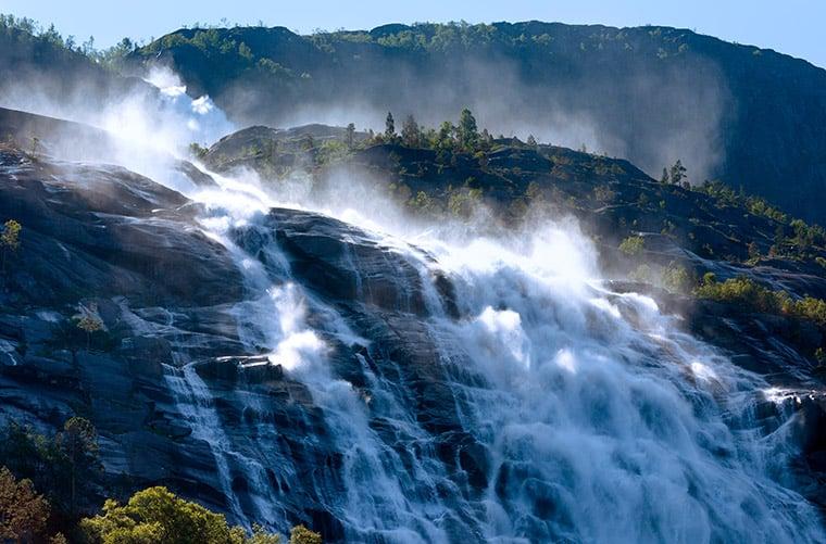 Amazing Norwegian waterfalls