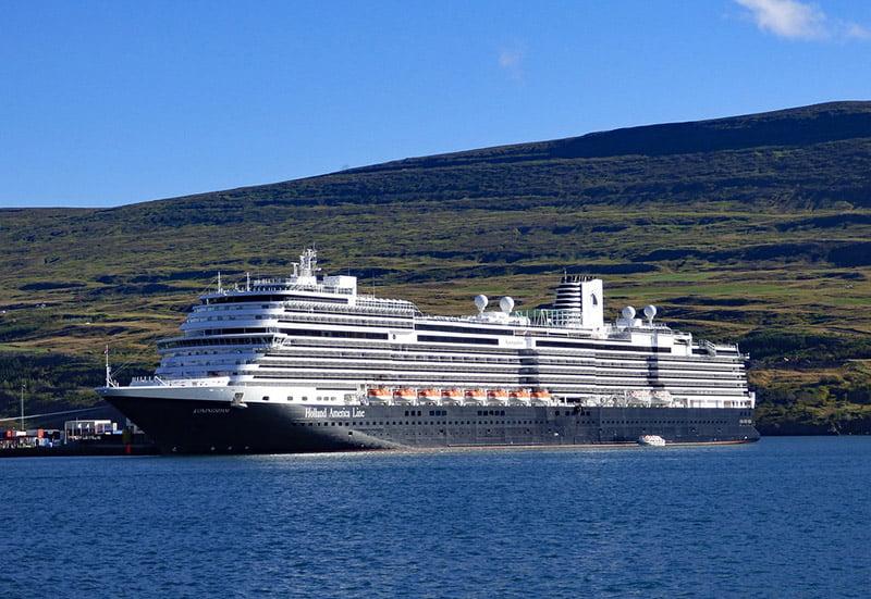 Holland America cruise liner