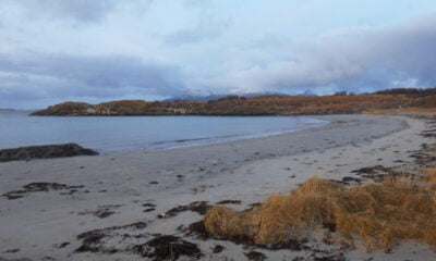 Løpsvika is one of the great beaches near Bodø in northern Norway