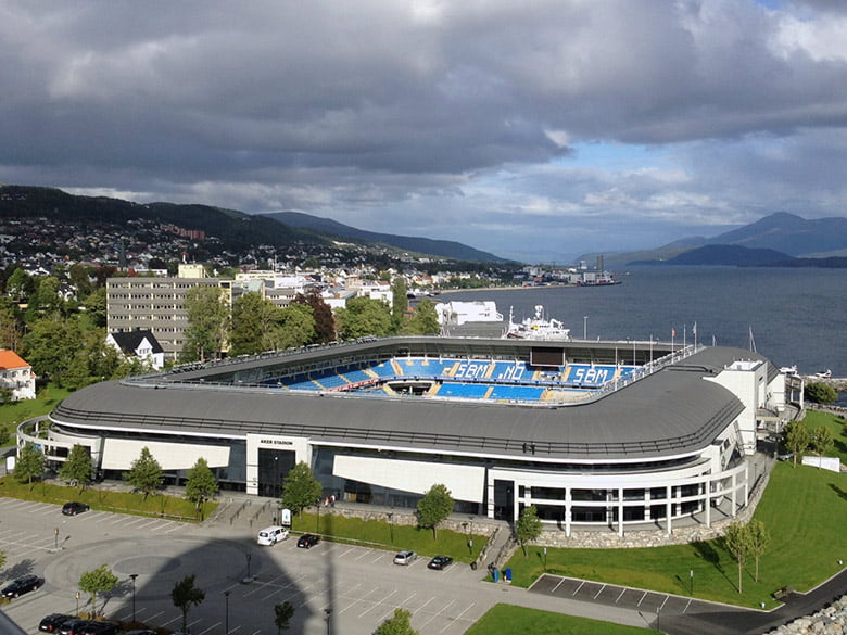 Aker Stadion, home of Molde FK