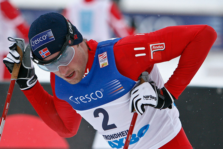 Petter Northug in action