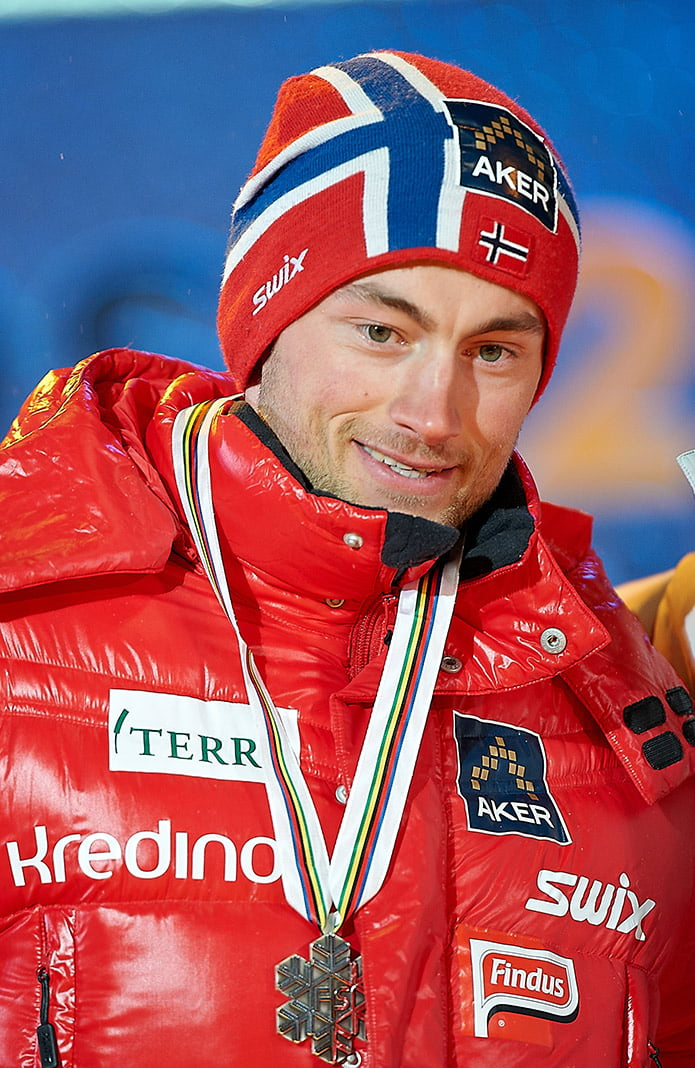 Norwegian cross-country skier Petter Northug