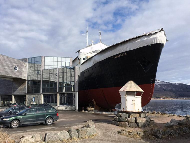 Old Hurtigruten museum in Vesterålen