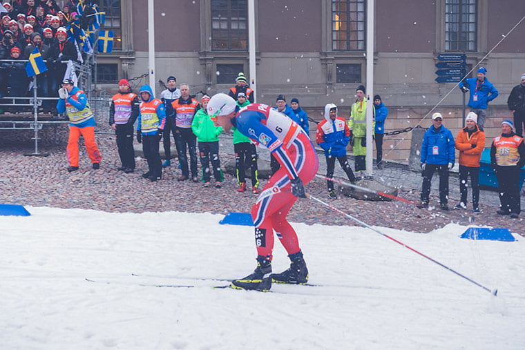 Petter Northug in action at a FIS World Cup event