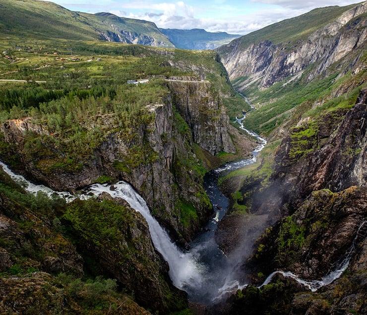 Vøringsfossen waterfall in Norway
