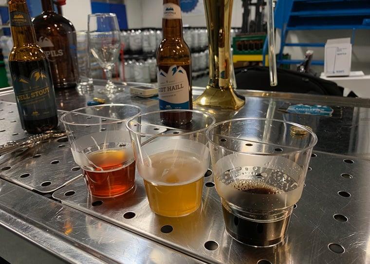 Beer tasting in Lofoten