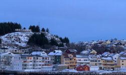 Kristiansund town sign