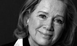 Liv Ullmann the Norwegian actress