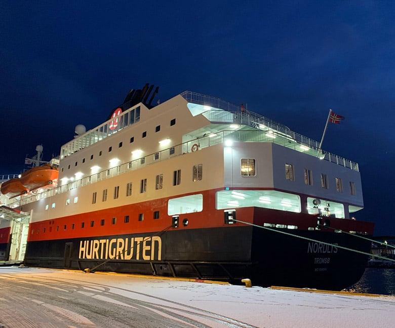Hurtigruten vessel MS Nordlys