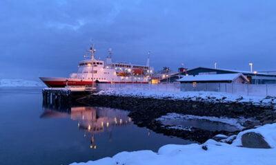 MS Vesterålen in Kirkenes, Norway