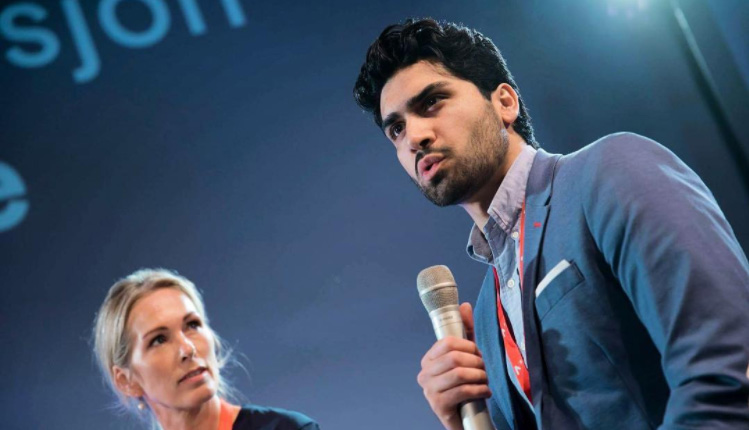 Norwegian social entrepreneur Munib Mushtaq