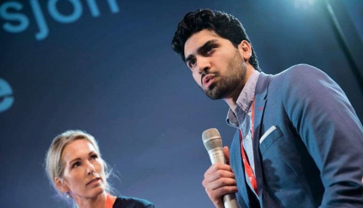 Norwegian social entrepreneur Munib Mushtaq