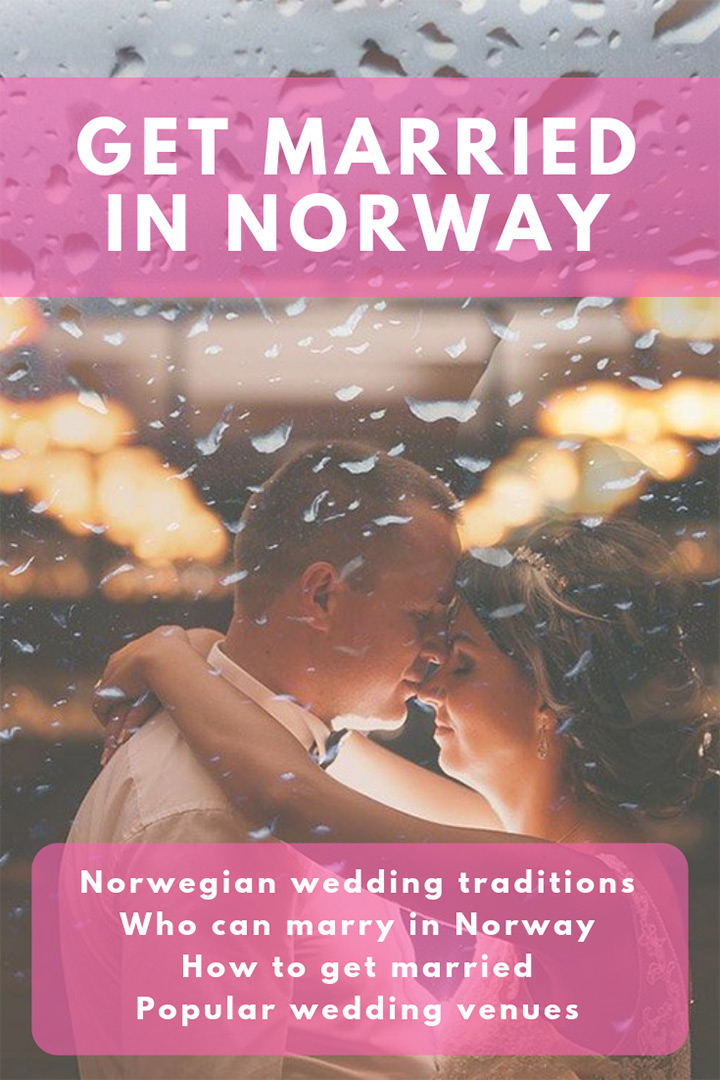 Getting married in Norway: Who can marry and Norwegian wedding traditions.