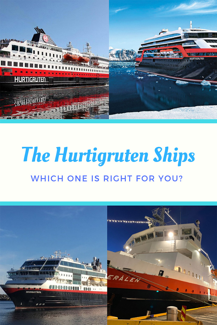 Hurtigruten Cruise Ships: Which of the ships is best for you to enjoy the Norwegian coastal voyage?