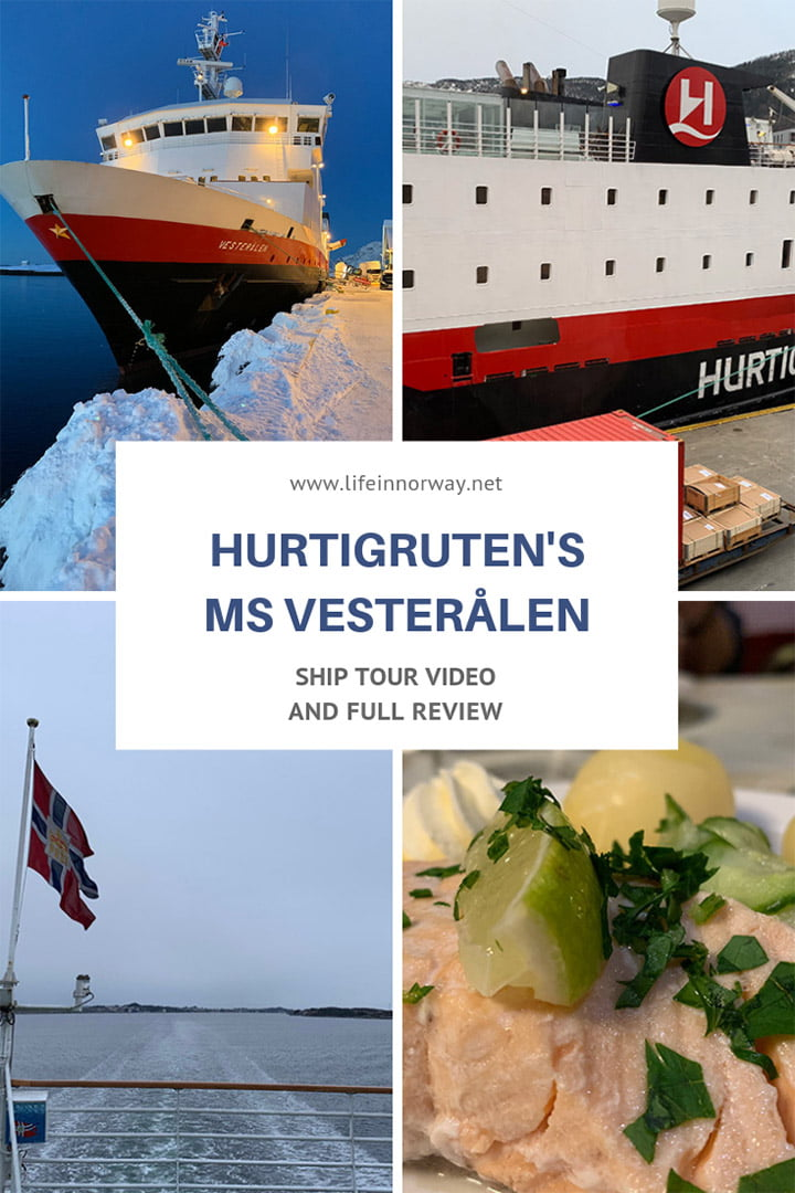 MS Vesterålen tour video and full ship review: Find out what this Hurtigruten ship is really like