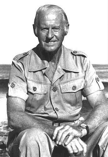 An older Thor Heyerdahl