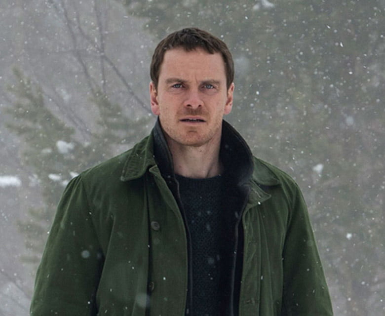Michael Fassbender playing Harry Hole in the Snowman