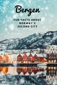 Fun facts about Bergen, Norway's second city and gateway to the fjords.