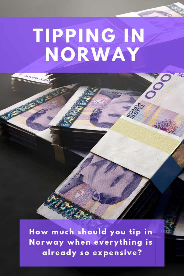 Tipping in Norway: How much should you tip when visiting Norway and are service charges normal?