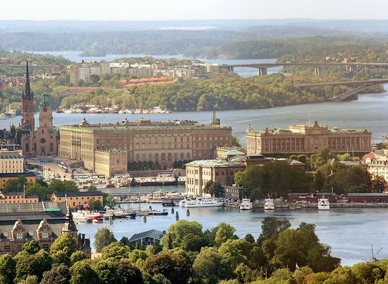 Sweden's Royal Palace in Stockholm