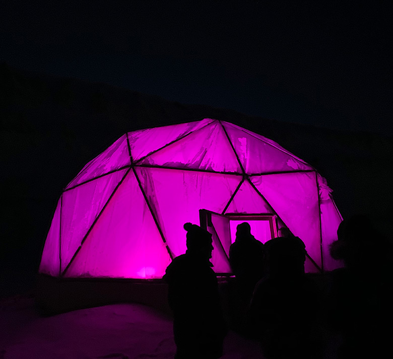 Arctic farming in a greenhouse on Svalbard