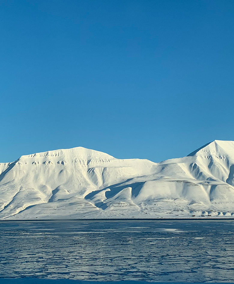 Beautiful Svalbard landscape