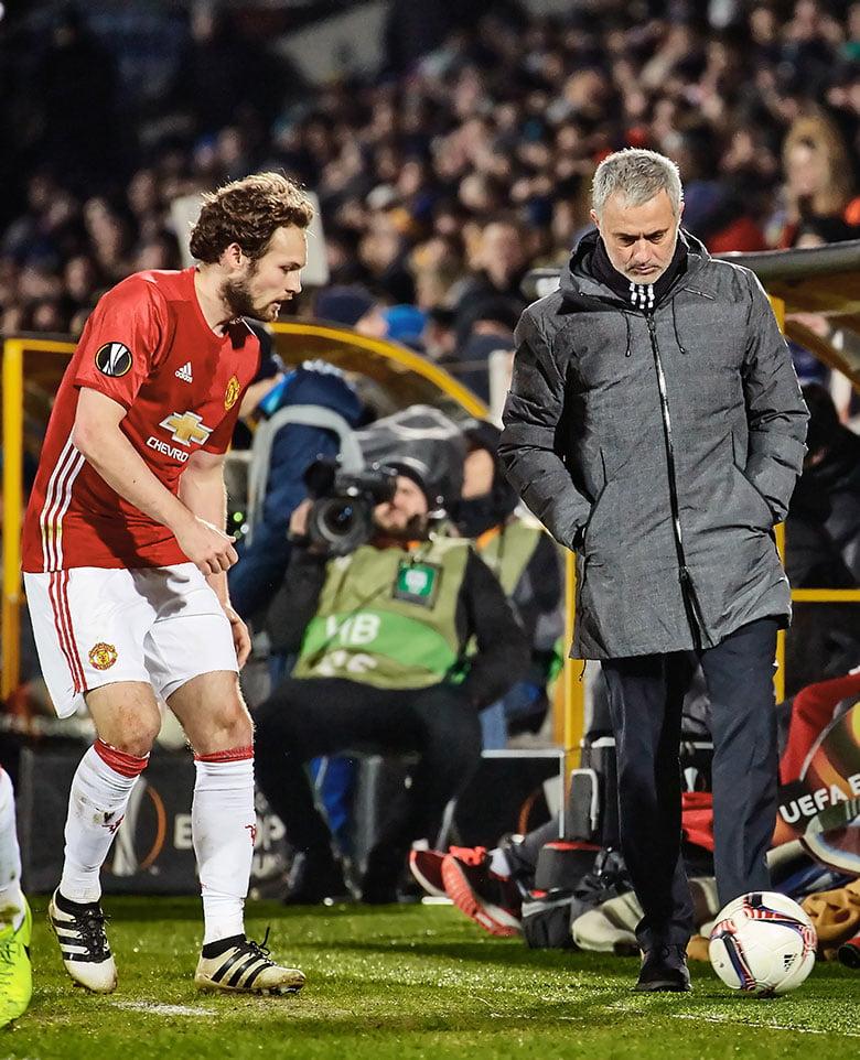 Former Manchester United coach Jose Mourinho