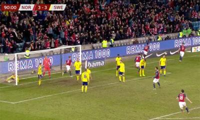 Norway v Sweden in Euro 2020 qualifier