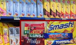 Norwegian chocolate selection