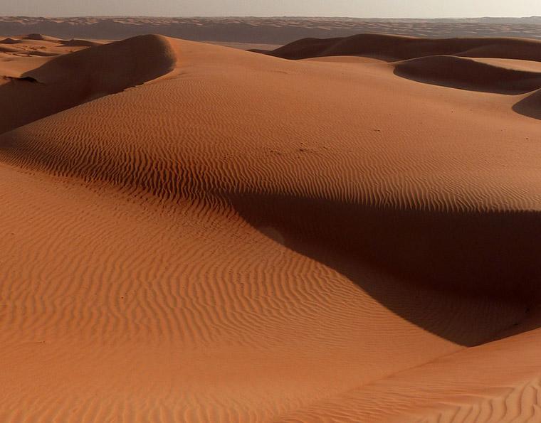 The desert of Oman