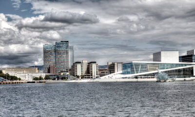 Oslo from the water