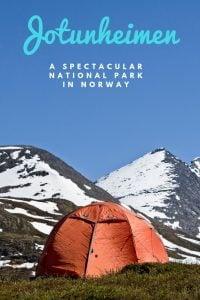 Explore Jotunheimen National Park in central Norway