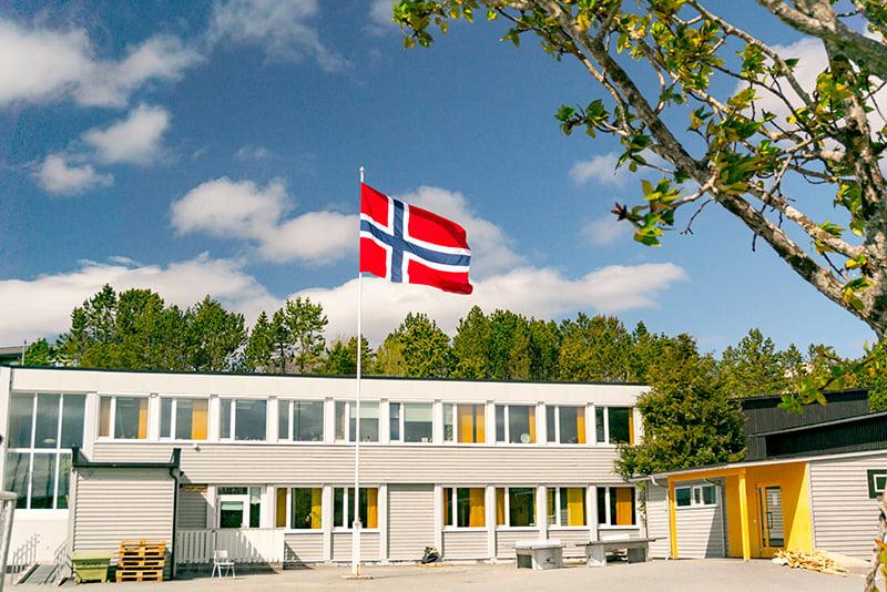 Typical Norwegian school