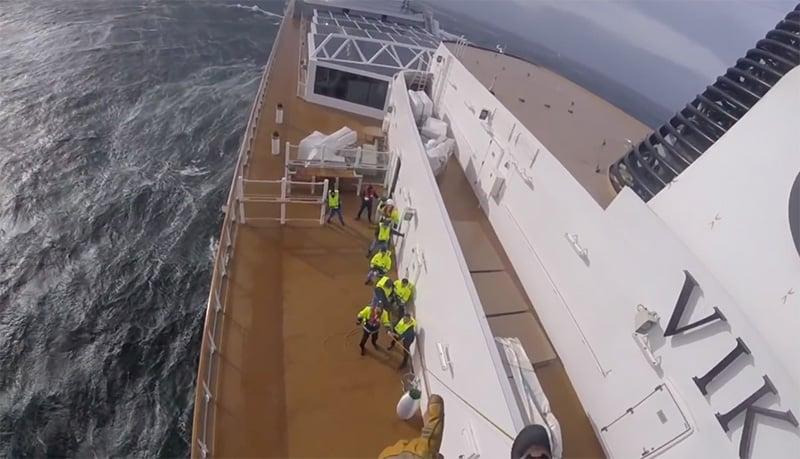 Viking Sky cruise ship rescue operation